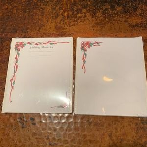 NEW 2 Creative Memories 8x10 Holiday Pages